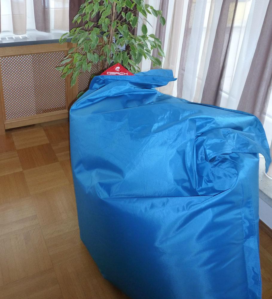 QSack Outdoorer Sitzsack Test