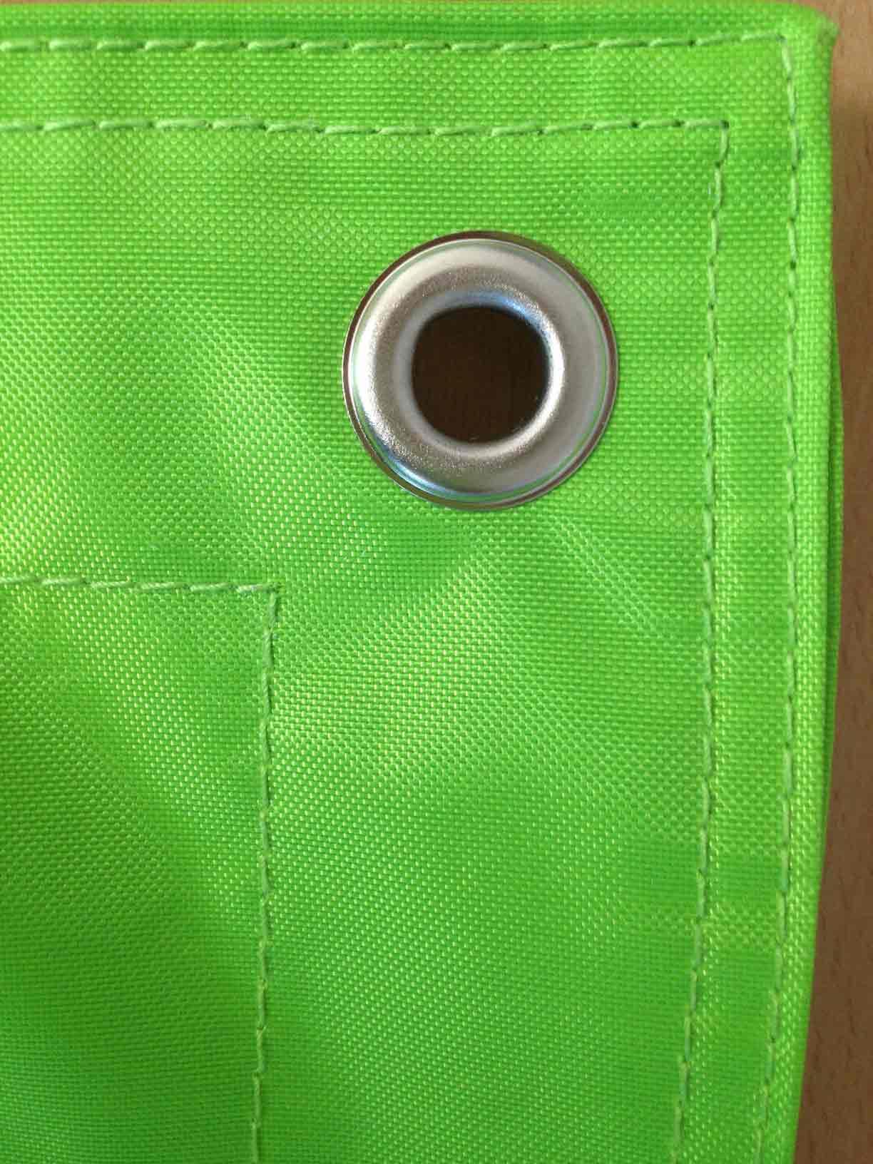 Grüner-Sitzsack-mit-Öse