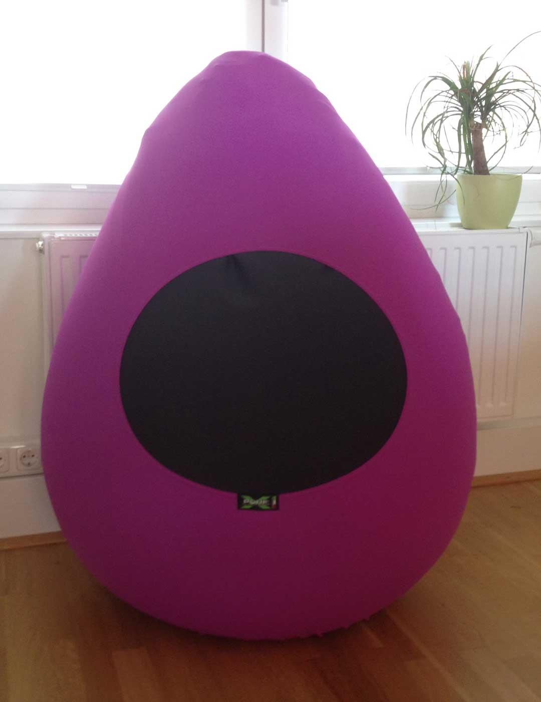 X-Drop Sitzsack lila