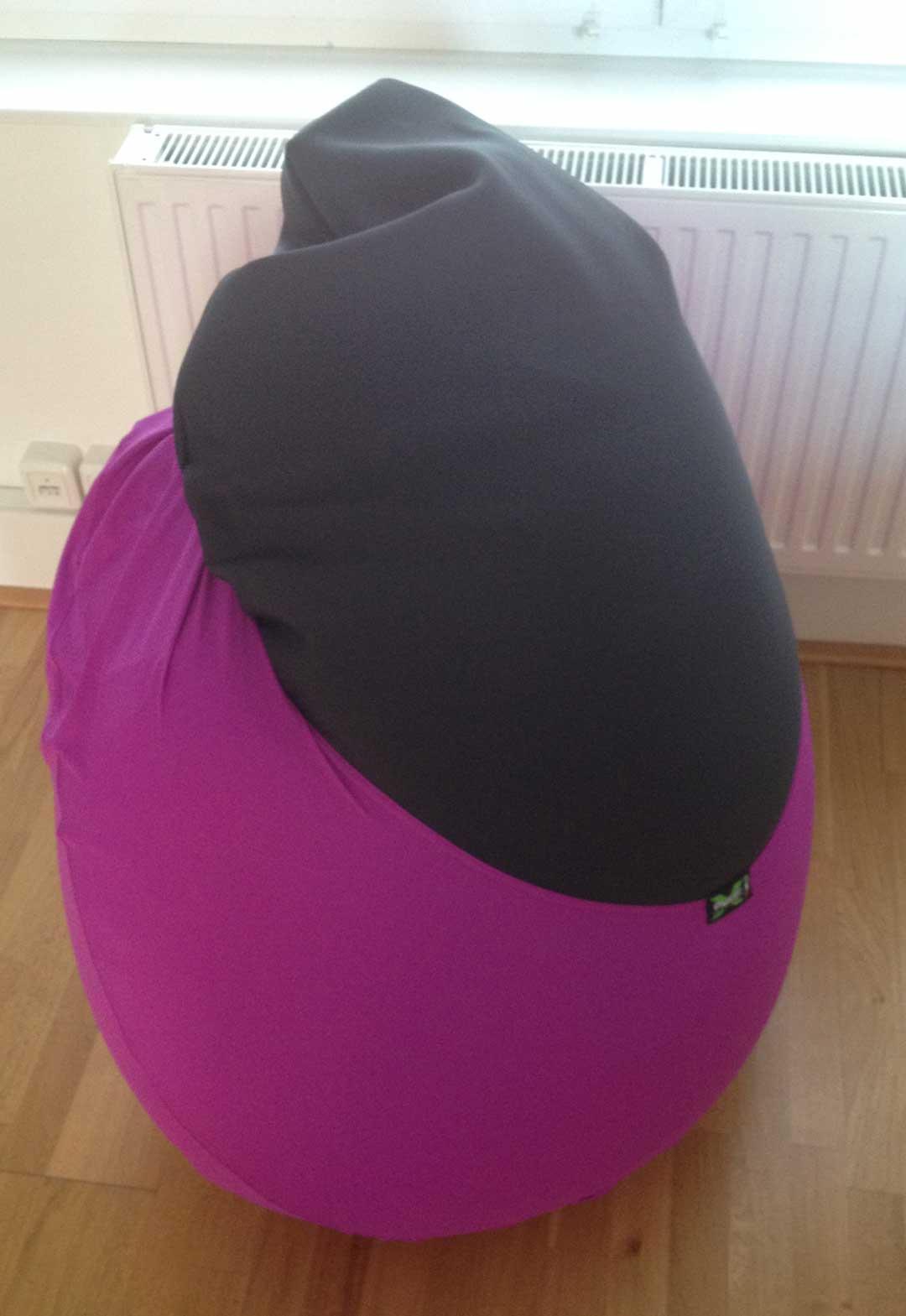 XPouf X-Drop Sitzsack Test lila
