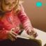 Kindersitzsack Leseecke einrichten
